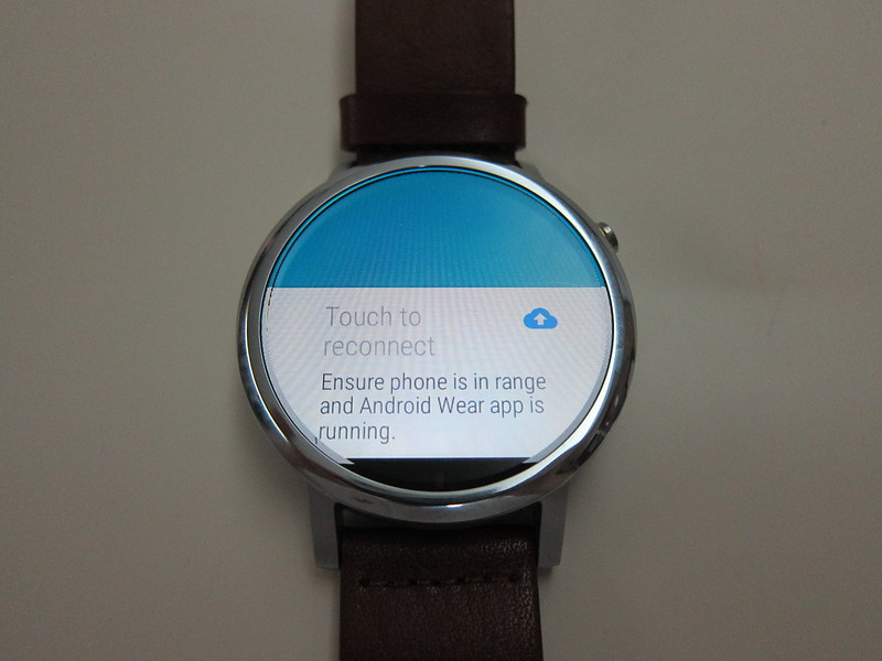 Moto 360 (2nd Gen) - Reconnect