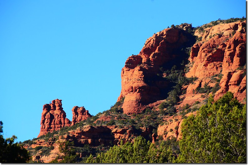 The Red Rocks are taken from the Boynton Pass Road 1