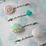 DIY pretty pastel bobby pins