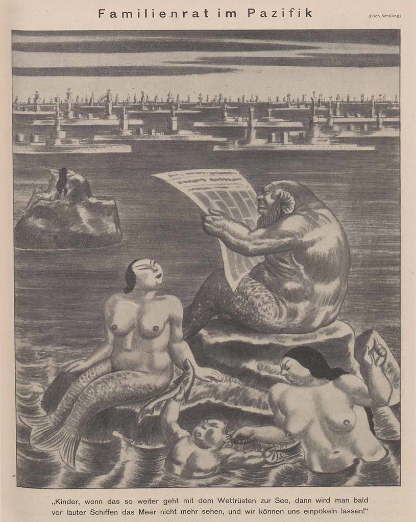 Erich Schilling - Family Council In The Pacific, 1938
