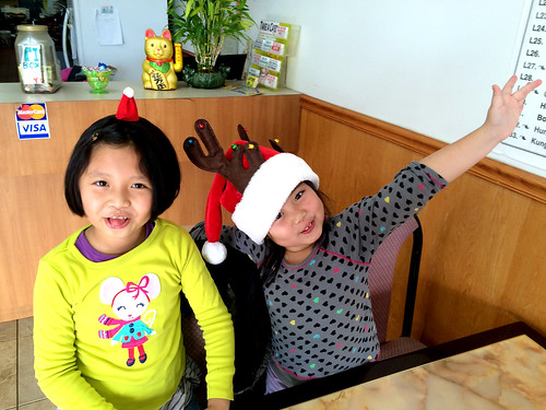 Christmas Wok Girls (December 21 2014)