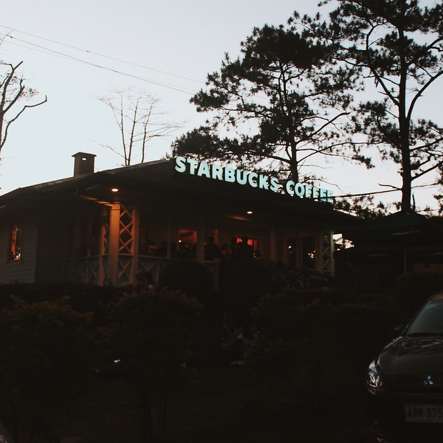 Starbucks Baguio and Baguio Christmas Village