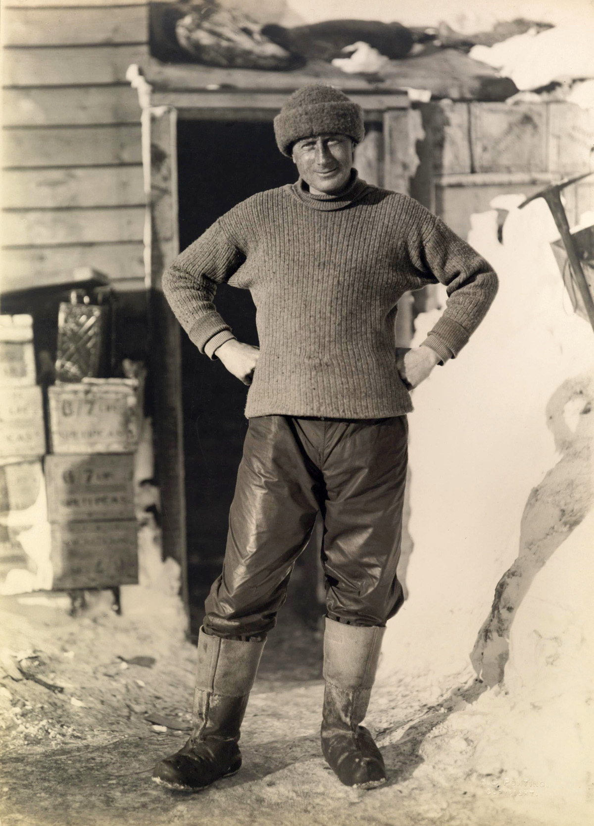 Dr. Edward Wilson, Scott's Antarctic Expedition, c. 1911