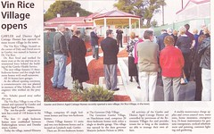 Gawler Communty Retirement Homes - Vin Rice - Bunyip 2009 0722