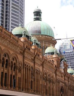 Image of Queen Victoria Building. sydney australia