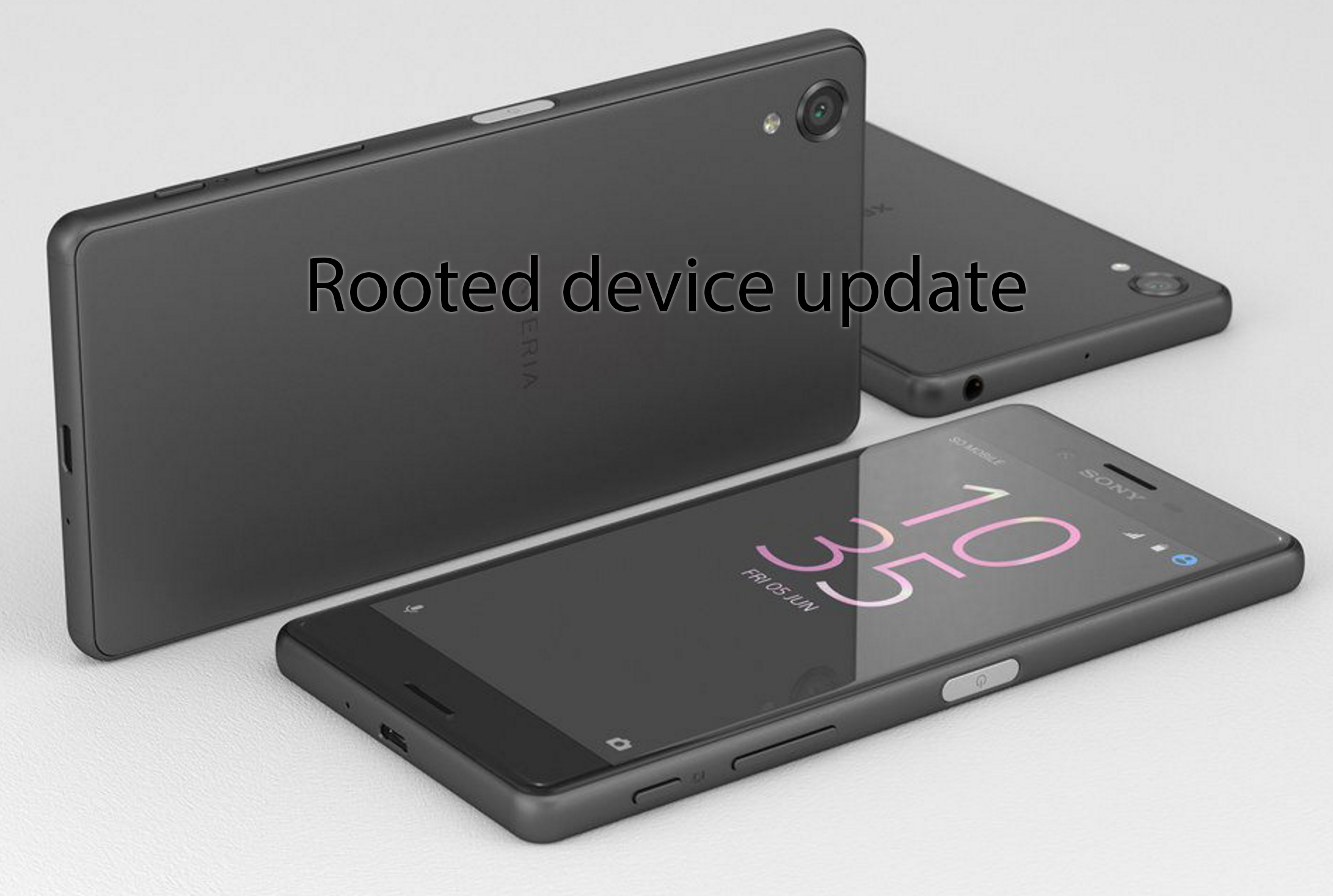 Update rooted Xperia