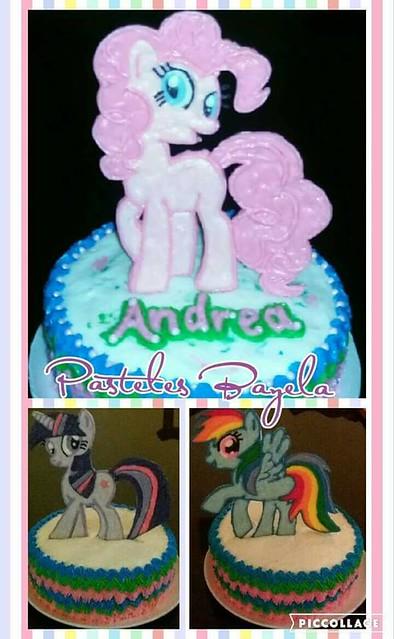 Cake by Bayela Gutiérrez of Pasteles Bayela