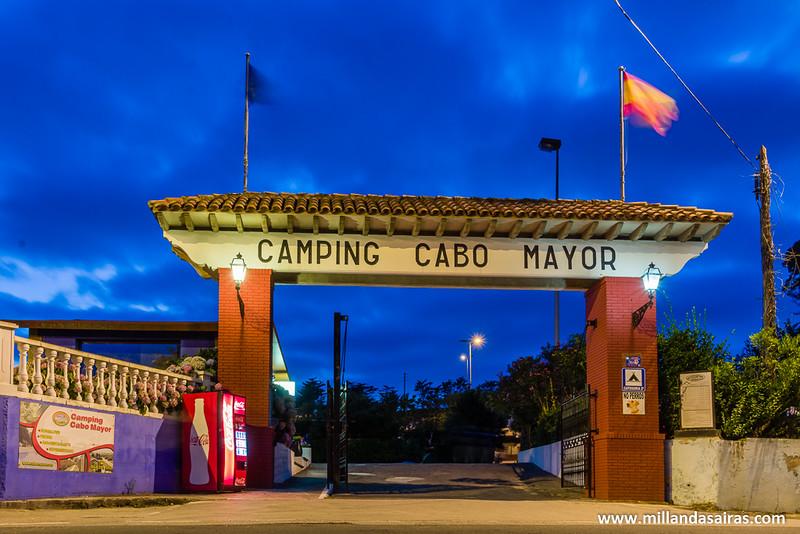 Camping en Cabo Mayor, justo al lado del faro y muy cerca de Santander!