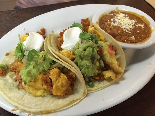 Breakfast tacos - Northside Cafe