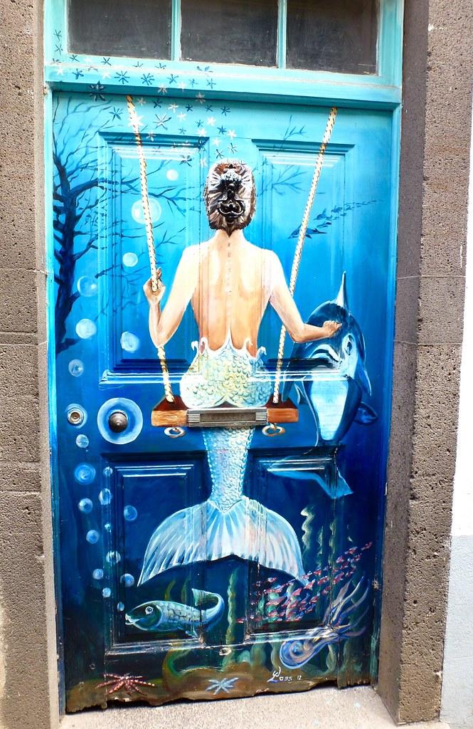 Number 105 Mermaid door