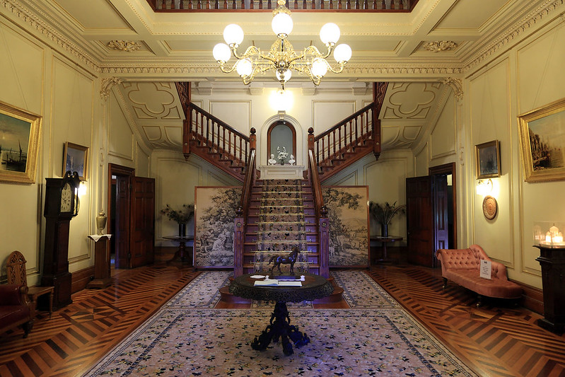 Martindale Hall, main entry hall