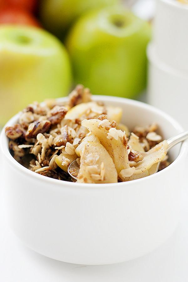 stovetop apple crisp