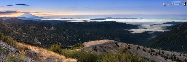Two Cascade Volcanos
