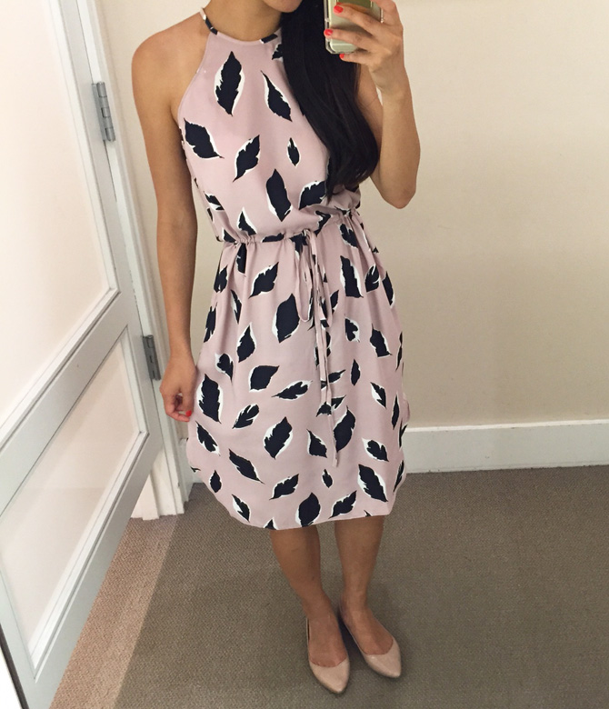 1b57dd9dbed LOFT friends   family sale + Maggy London floral fit flare dress ...