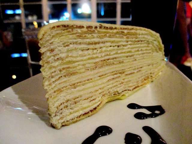 Upstairs Coffee Horlicks mille crepe