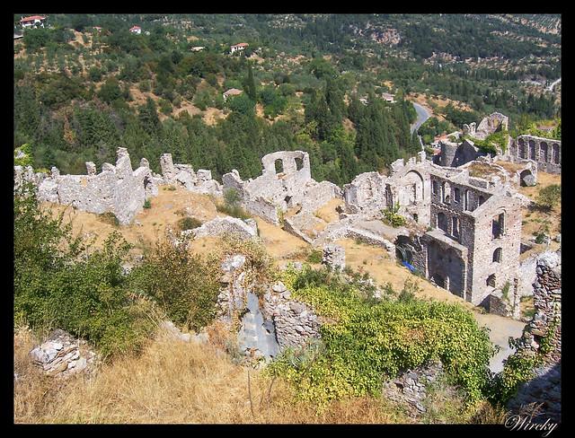 Grecia Nauplia Esparta Mistrás Olimpia - Ruinas de Mistrás