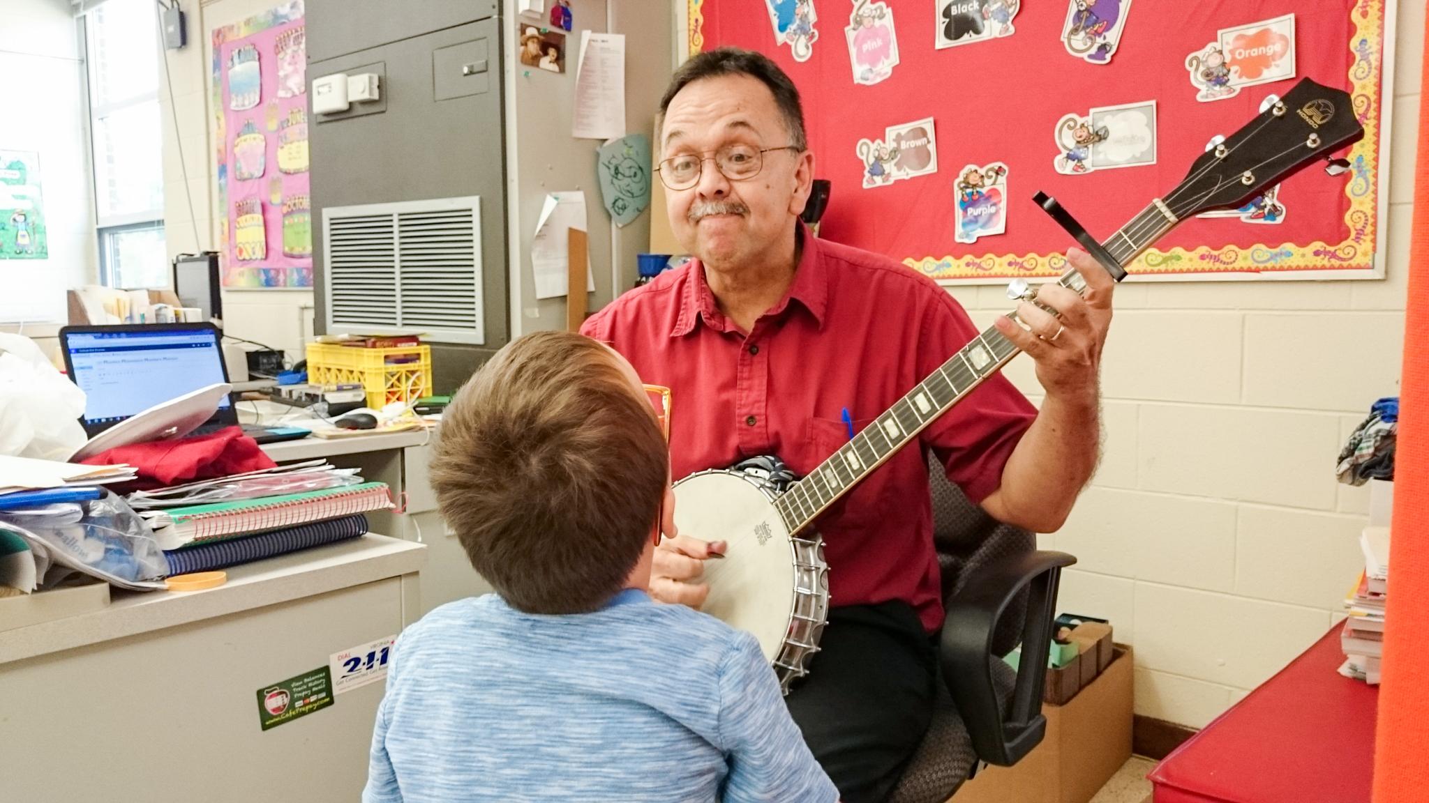 Ms. Ridpath's First Grade Orientation Tour