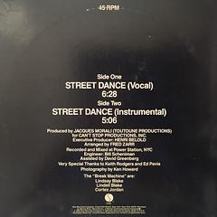 BREAK MACHINE:STREET DANCE(JACKET B)
