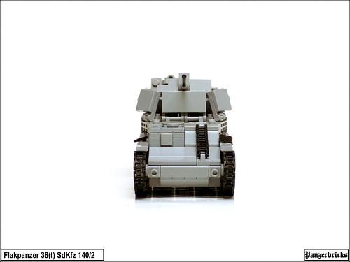 Flakpanzer 38(t) SdKfz 140/2 de Panzerbricks