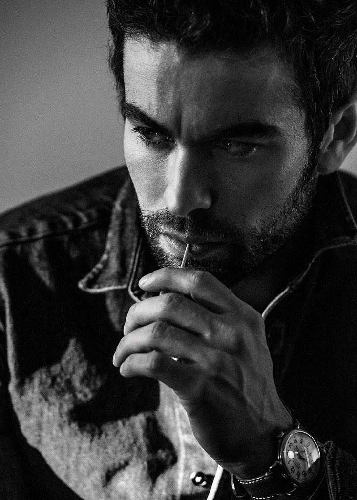 Чейс Кроуфорд — Фотосессия для «Interview» 2015 – 6