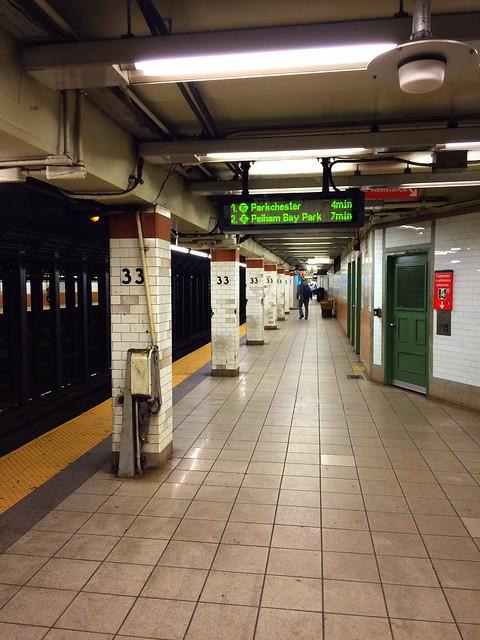 subway at 33rd