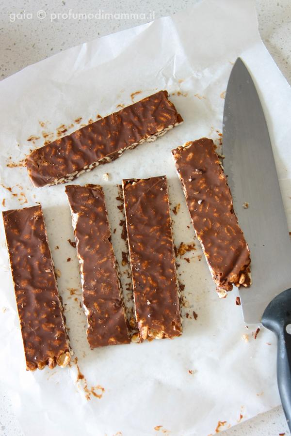 Barrette Farro e Cioccolato