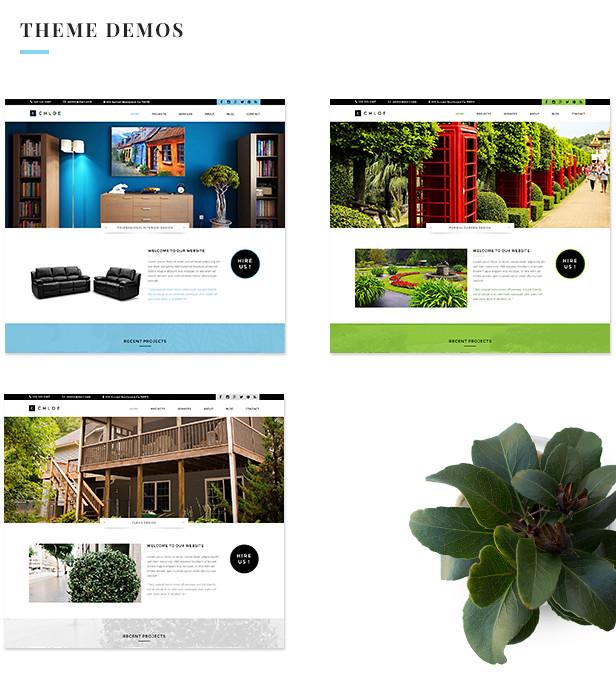 Chloe - Interior / Furniture / Exterior / Garden and Landscape Design Template - 6