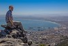 Me on the Table Mountain / Cape Town
