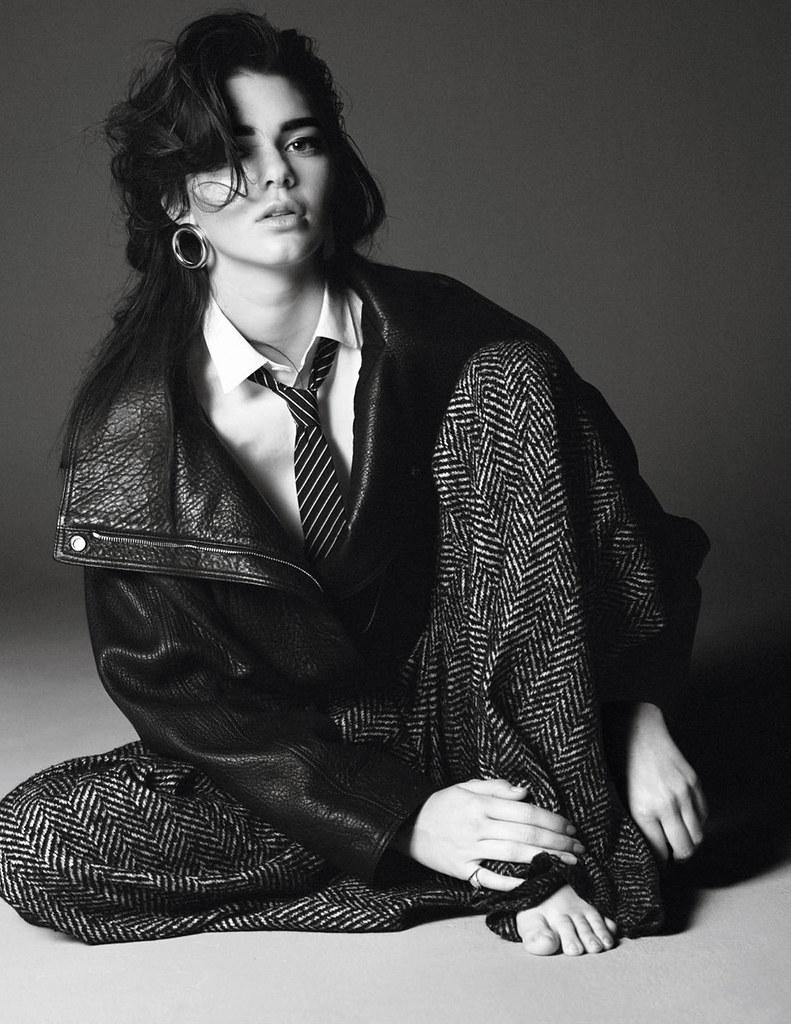 Кендалл Дженнер — Фотосессия для «Vogue» FR 2015 – 4
