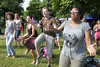 Amsterdam, The Netherlands - July, 5 2015: African dance workshop during Amsterdam Roots Open Air, a cultural festival held in Park Frankendael on 05/07/2015 by CloudMineAmsterdam