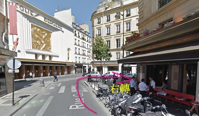 巴黎九區公寓地鐵路線