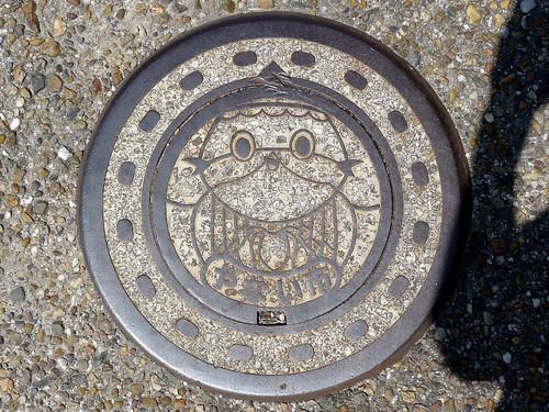 Yanai Yamaguchi, manhole cover 5 (山口県柳井市のマンホール5)