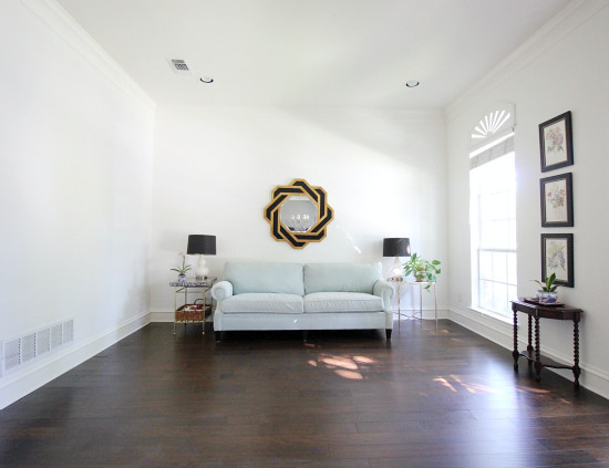 Hi Sugarplum | ORC Living Room before