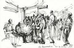 Le Recensement des «Sur le Carreau». Migrants de la Chapelle