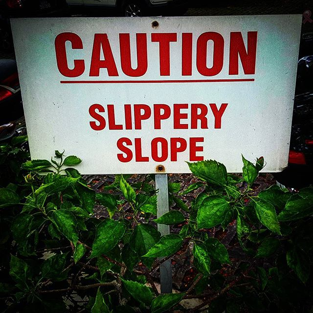 One of many I'm sure!! #slippery...