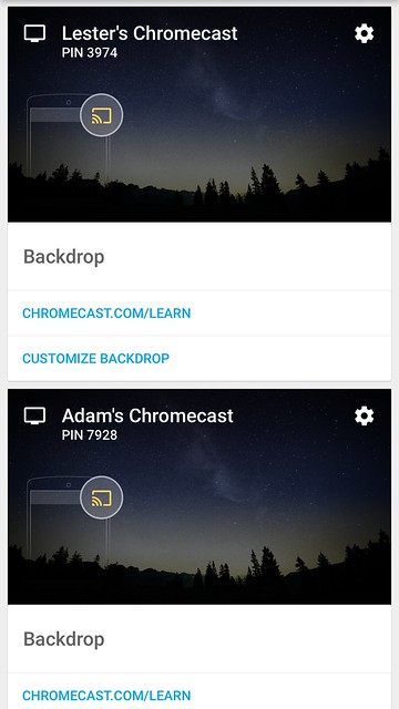Chromecast iOS App - Devices