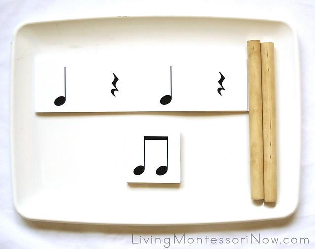 Rhythm Pattern Card Matching and Rhythm Practice