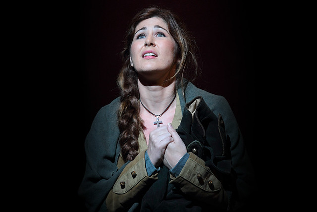Nicole Car as Micaela in The Royal Opera's Carmen © 2015 ROH. Photograph by Catherine Ashmore