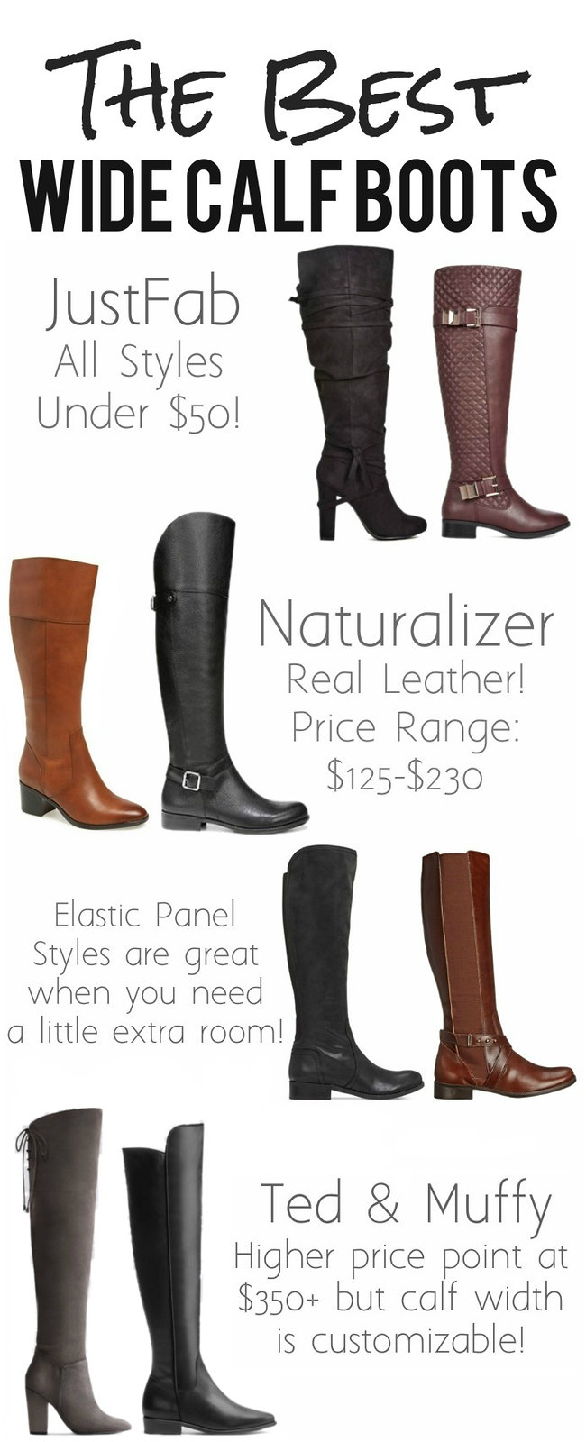 The Best Wide Calf Boots