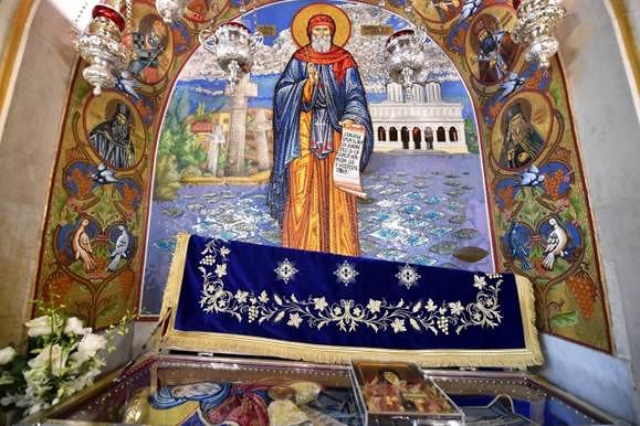 Sfintele Moaste ale Sfantului Dmitrii Basarbovschii