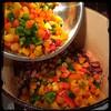 #Homemade #Seafood #Gumbo #CucinaDelloZio - add peppers