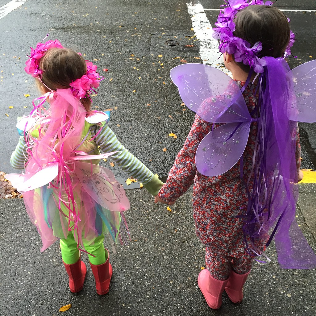 a regular fairy and a bedtime fairy.