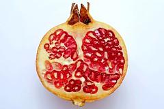 Pomegranate cut in half (DSCF7122)