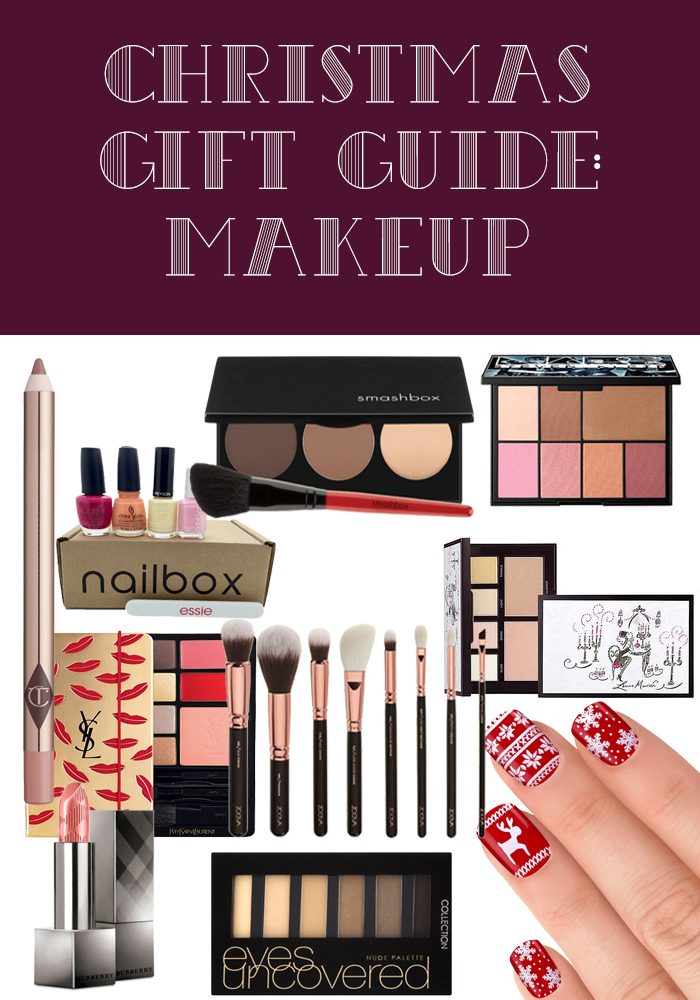 Christmas Gift Guide: Makeup 2015