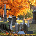 Autumn Cemetery by edenpictures