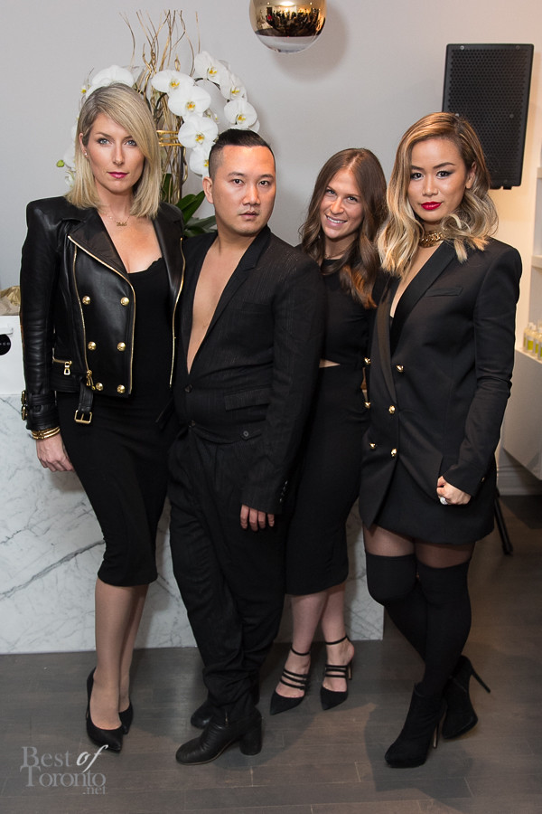 Lac+Co 's Tony Pham with the Candice & Alison team