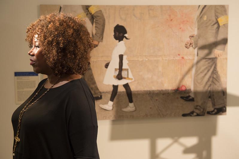 Apertura de exhibición de Norman Rockwell