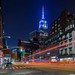 Empire State Building lights up for Chanukah by NYC♥NYC