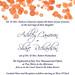 Wedding Invitation - Cameron