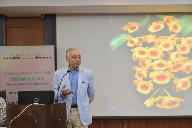 Dr. Kamal Bawa, distinguished Professor of Biology in University of Massachusetts and the founder of ATREE recounted the fascinating biological richness of the eastern Himalayas and about the ways they sustain the lives of millions of people.